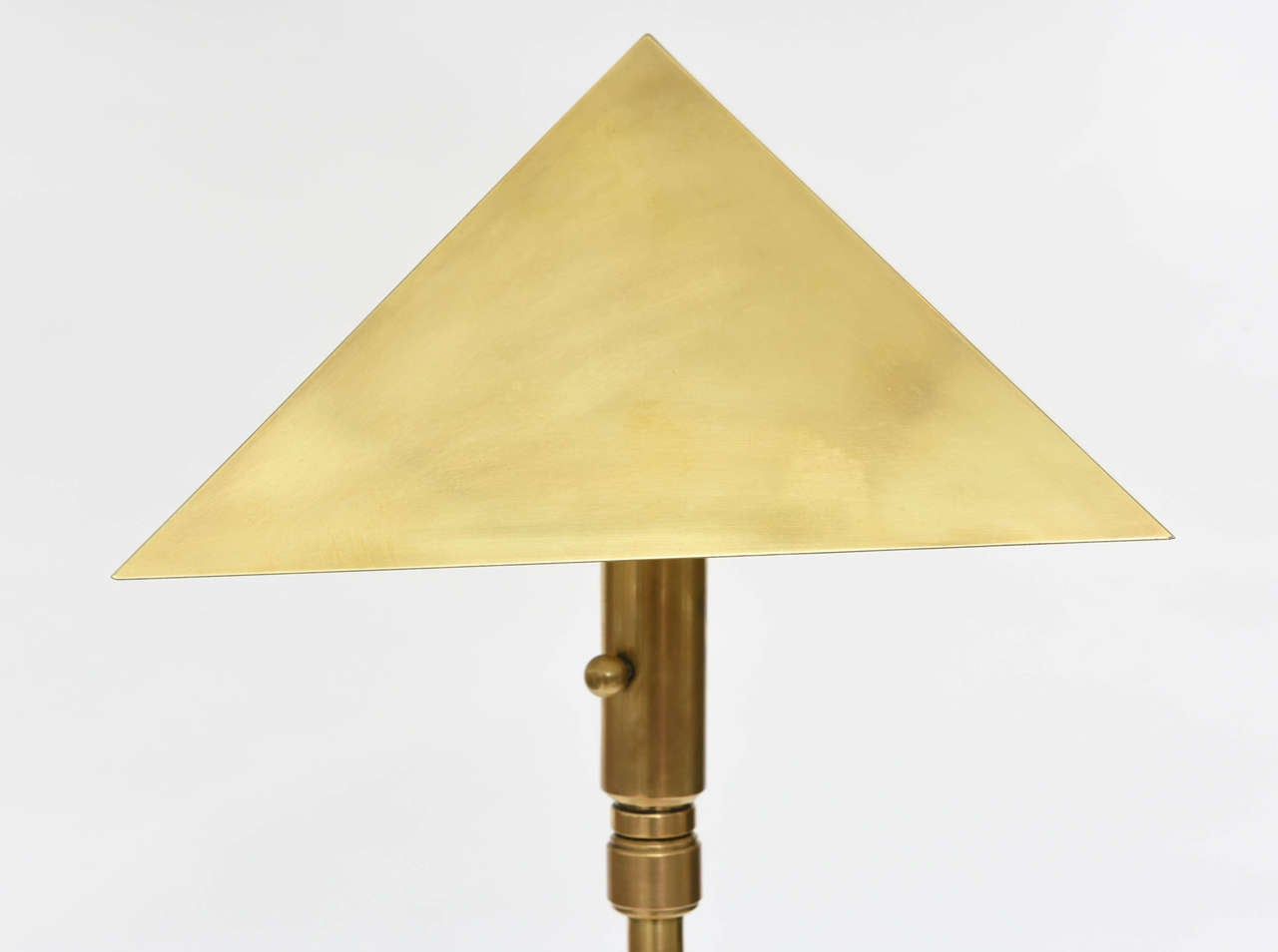 American Pair of Brass Adjustable Table or Floor Lamps, Chapman For Sale 1