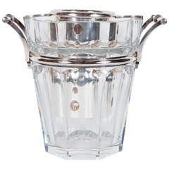 The 'Moulin Rouge' Champagne Cooler signed by Baccarat in Hand-Blown Crystal