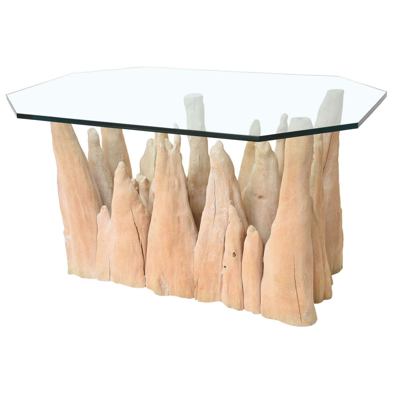 Cypress Knee Table For Sale