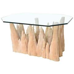 Cypress Knee Table