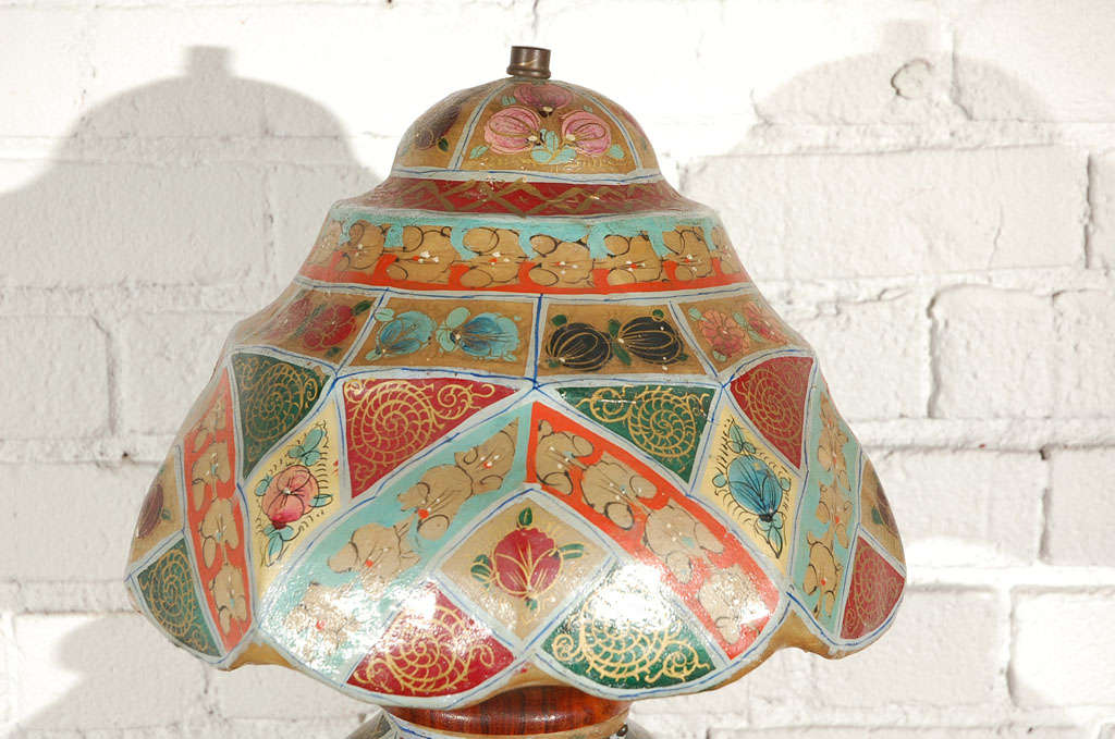 American Camel Skin Lamp For Sale