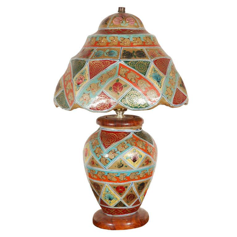Camel Skin Lamp At 1stdibs