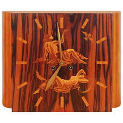 Art Deco Mythology Clock