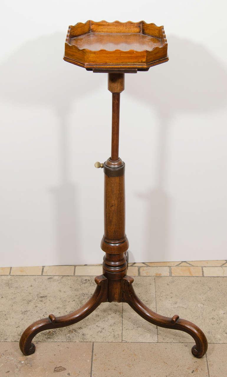 George III Adjustable Urn Stand 6