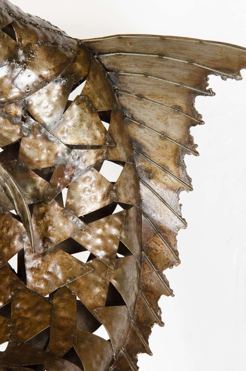 20th Century Mid-Century Modernist Brutalist Marlin Sculpture For Sale
