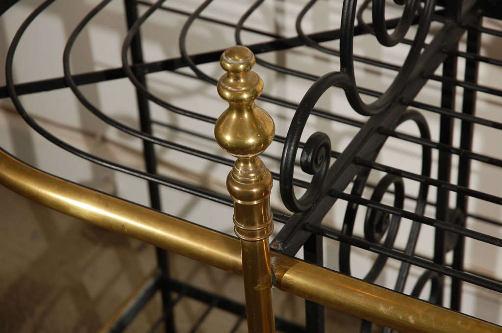 19th century Original Vintage French Baker's Rack 6