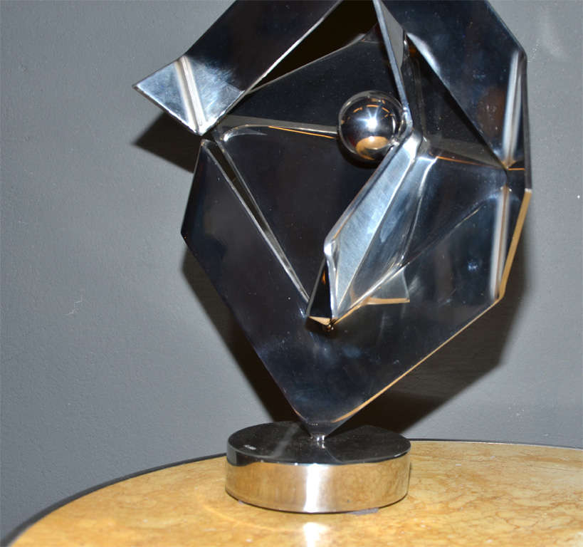Sculpture, Signed by Rosette Bir In Good Condition For Sale In Saint-Ouen, FR