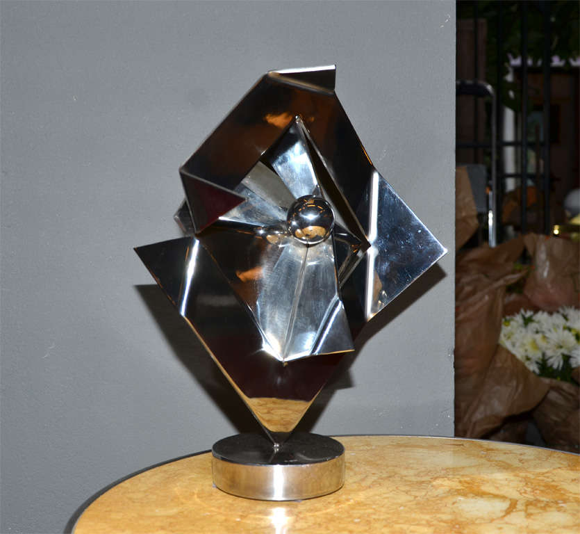 20th Century Sculpture, Signed by Rosette Bir For Sale