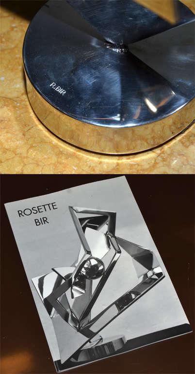 Sculpture, Signed by Rosette Bir For Sale 3