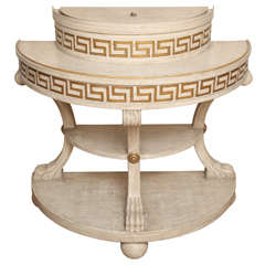 A Pair of Custom-Made Frances Elkins Console Tables
