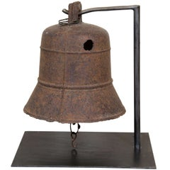 19th Century Cast Iron Temple Bell