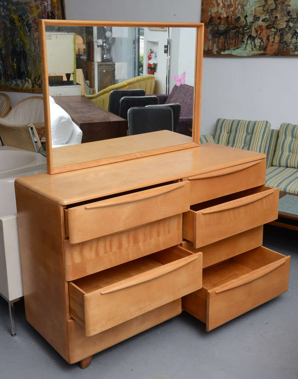 39 mr and mrs 39 maple dresser by heywood wakefield encore bedroom group 1960s at 1stdibs for 1960 bedroom furniture for sale