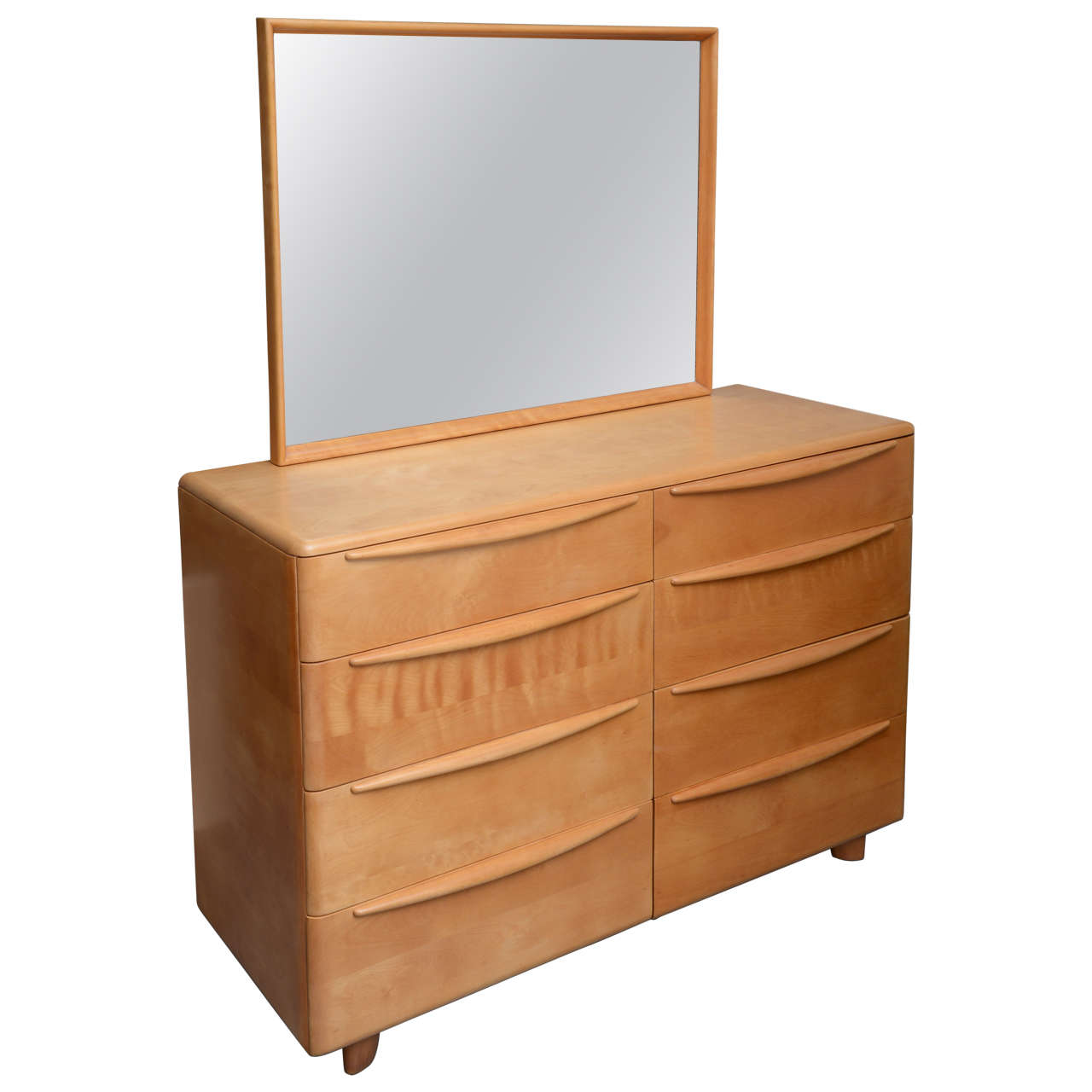 Mr And Mrs Maple Dresser By Heywood Wakefield Encore