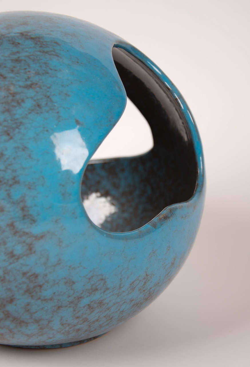 1950 Italian pottery sculpture by Antonia Campi 4