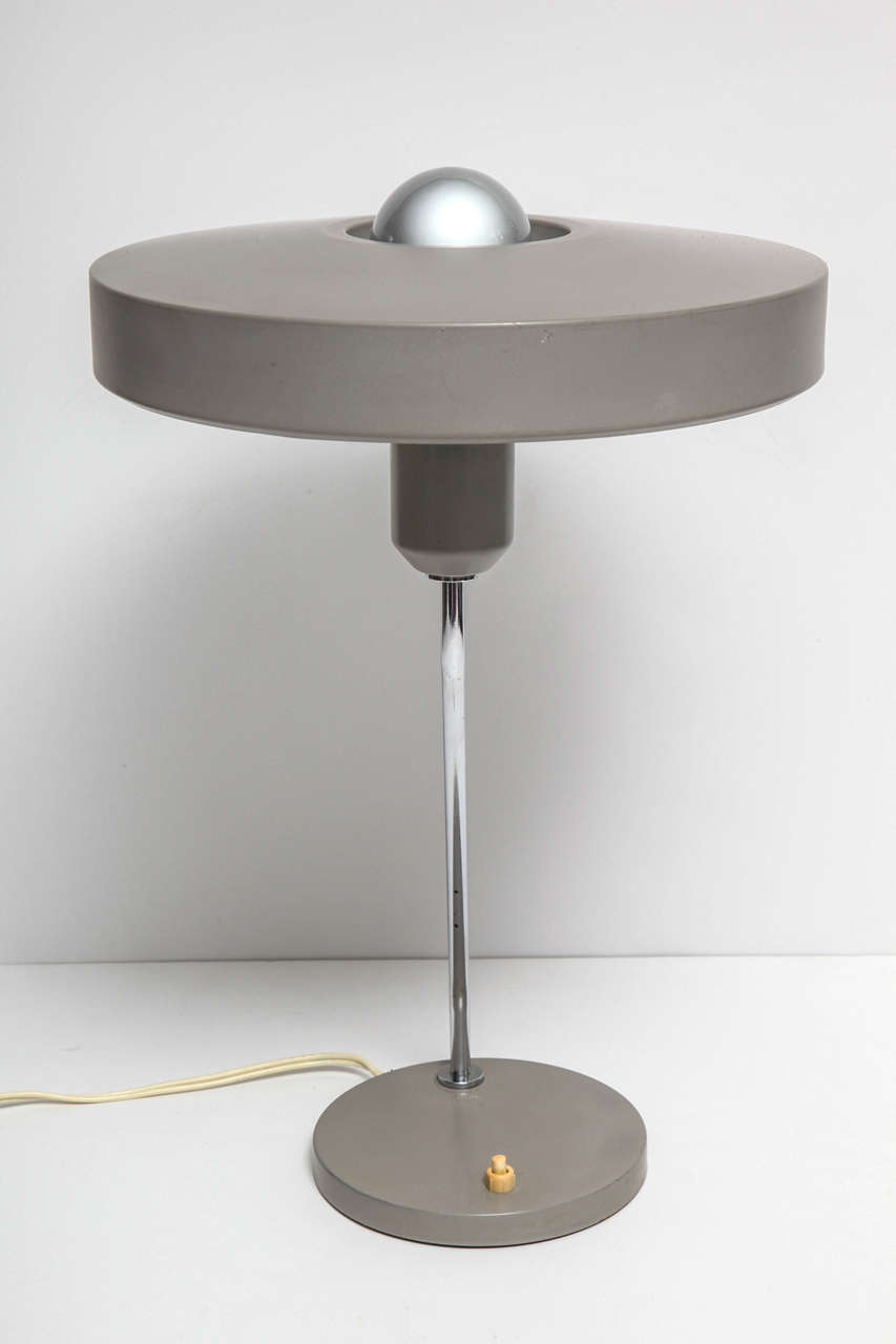 Mid-Century Modern Desk Lamp, C 1950, Germany For Sale