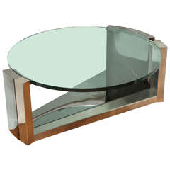 Contemporary Design Round Coffee Table