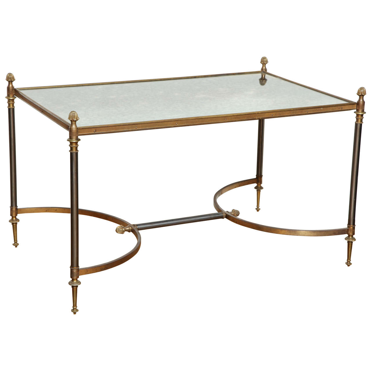 French Baguès Louis XVI Style Coffee Table For Sale