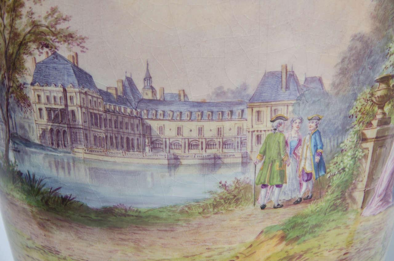 Pair of Antique Sèvres Vases For Sale 2