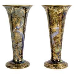 Wedgwood Fairyland Lustre Vases