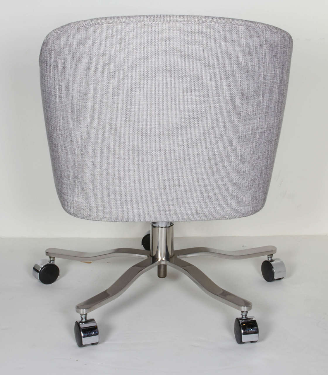 Mid-Century Modern Swivel Desk Chair Designed by Ward Bennett For Sale 1