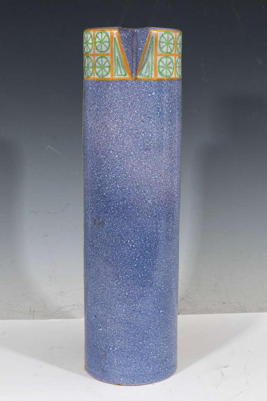 Glazed A Midcentury Spanish Ceramic Pitcher by Alfaraz For Sale