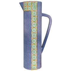 A Midcentury Spanish Ceramic Pitcher by Alfaraz