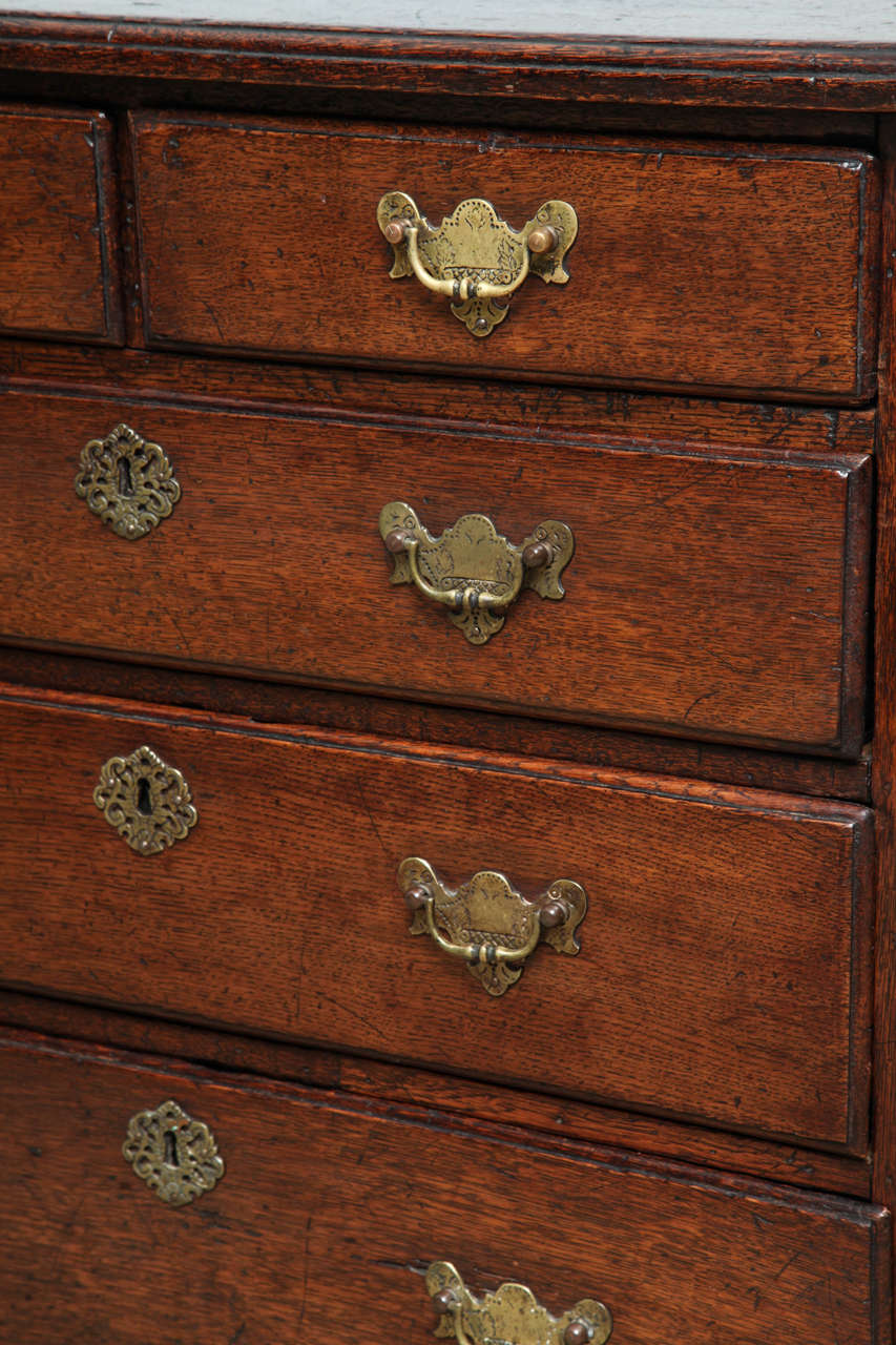 Fine George I Oak Bachelor's Chest For Sale 1