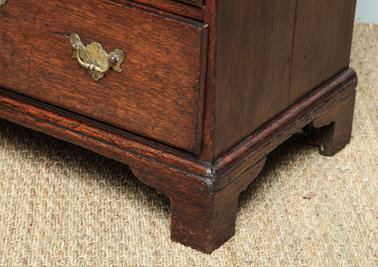 Fine George I Oak Bachelor's Chest For Sale 2