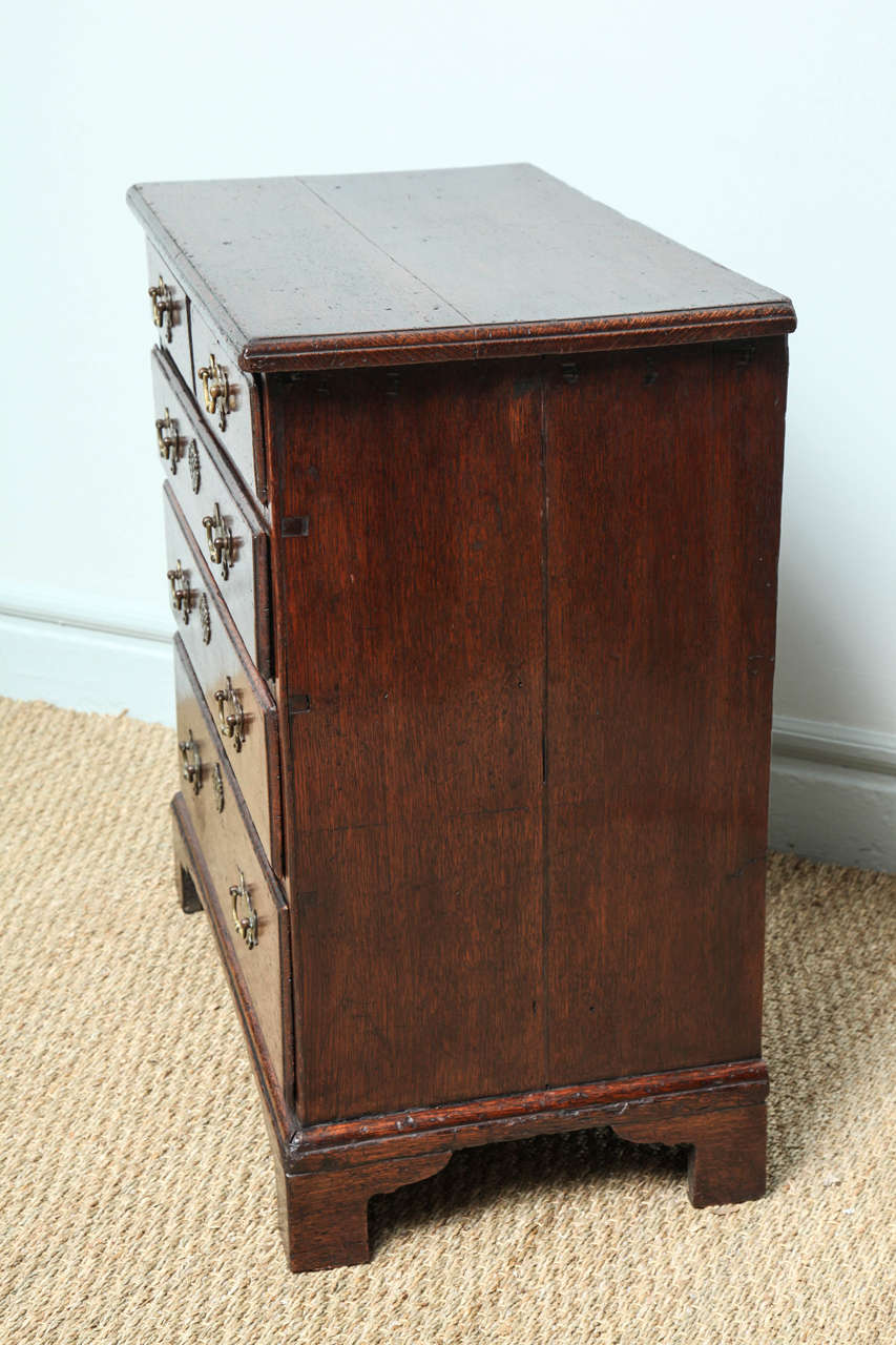 Fine George I Oak Bachelor's Chest For Sale 3