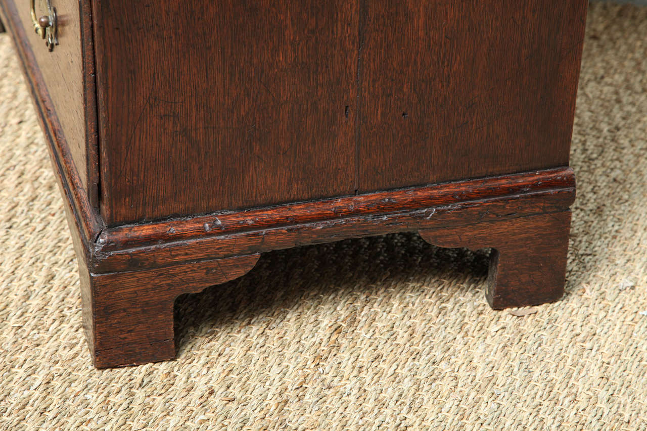Fine George I Oak Bachelor's Chest For Sale 4