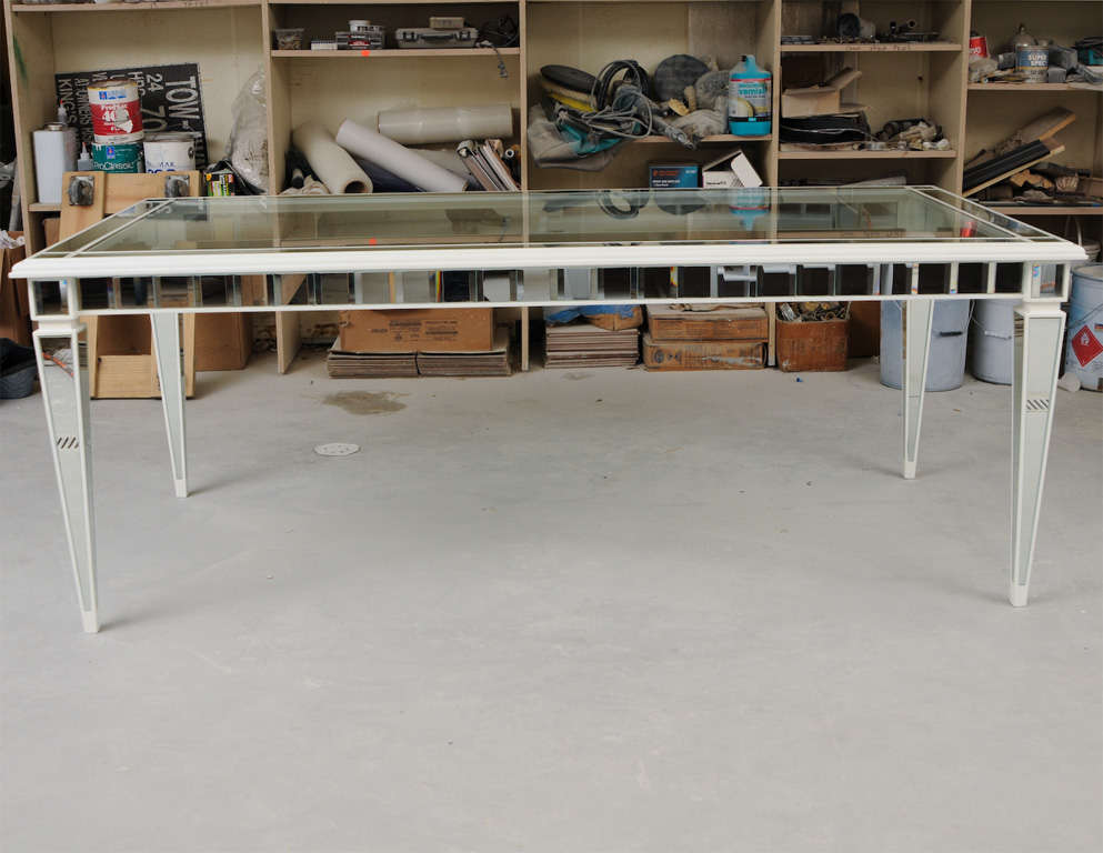 American Dining Mirror Table For Sale