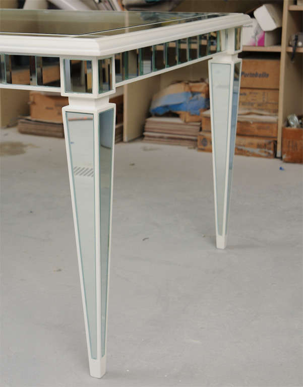 Dining Mirror Table For Sale 1