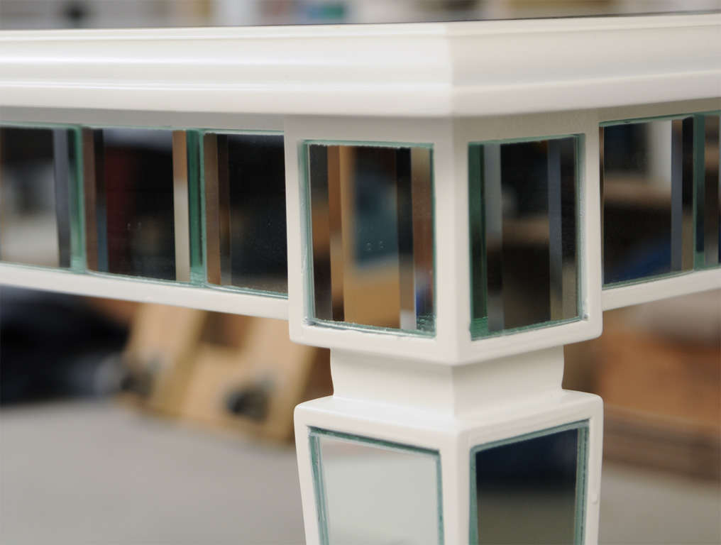 Dining Mirror Table For Sale 2