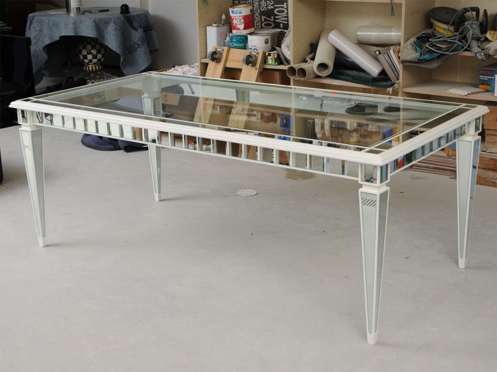 Dining Mirror Table For Sale 4