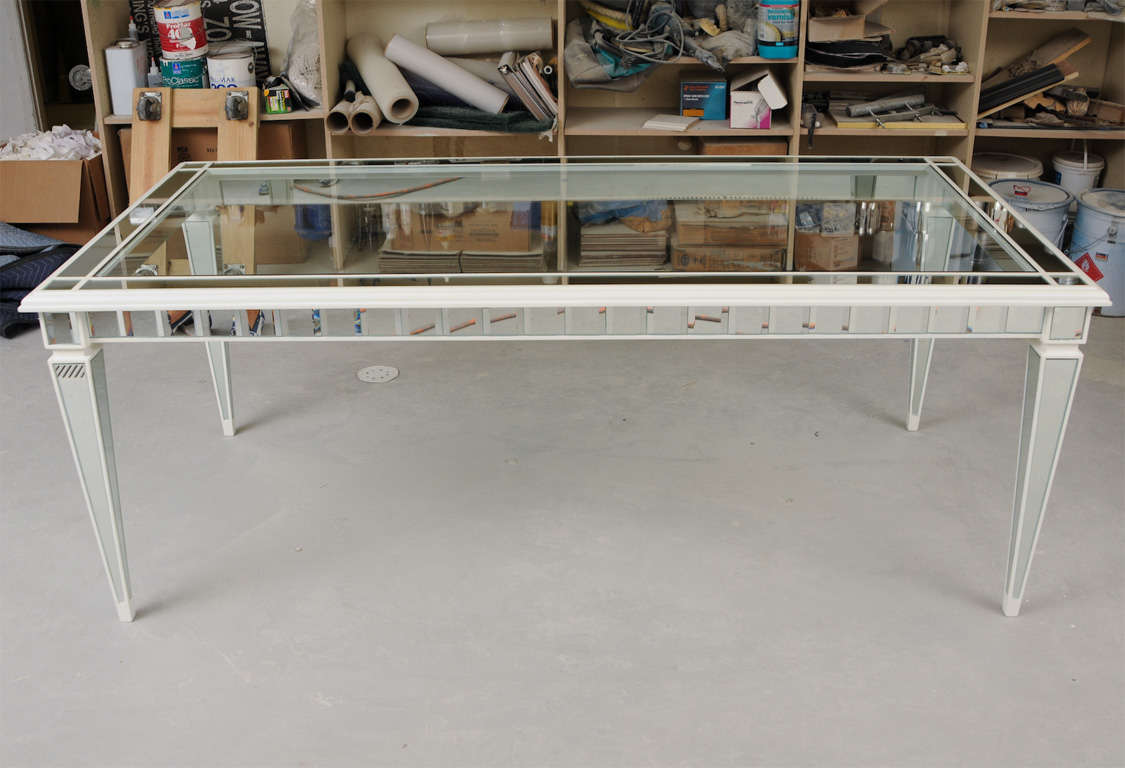 Dining Mirror Table For Sale 5