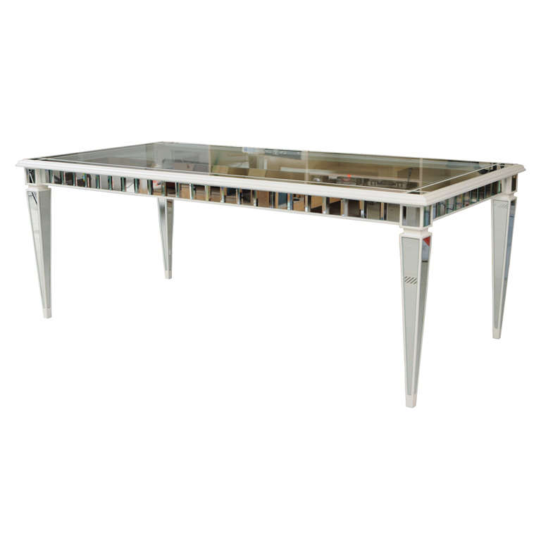 Dining Mirror Table For Sale