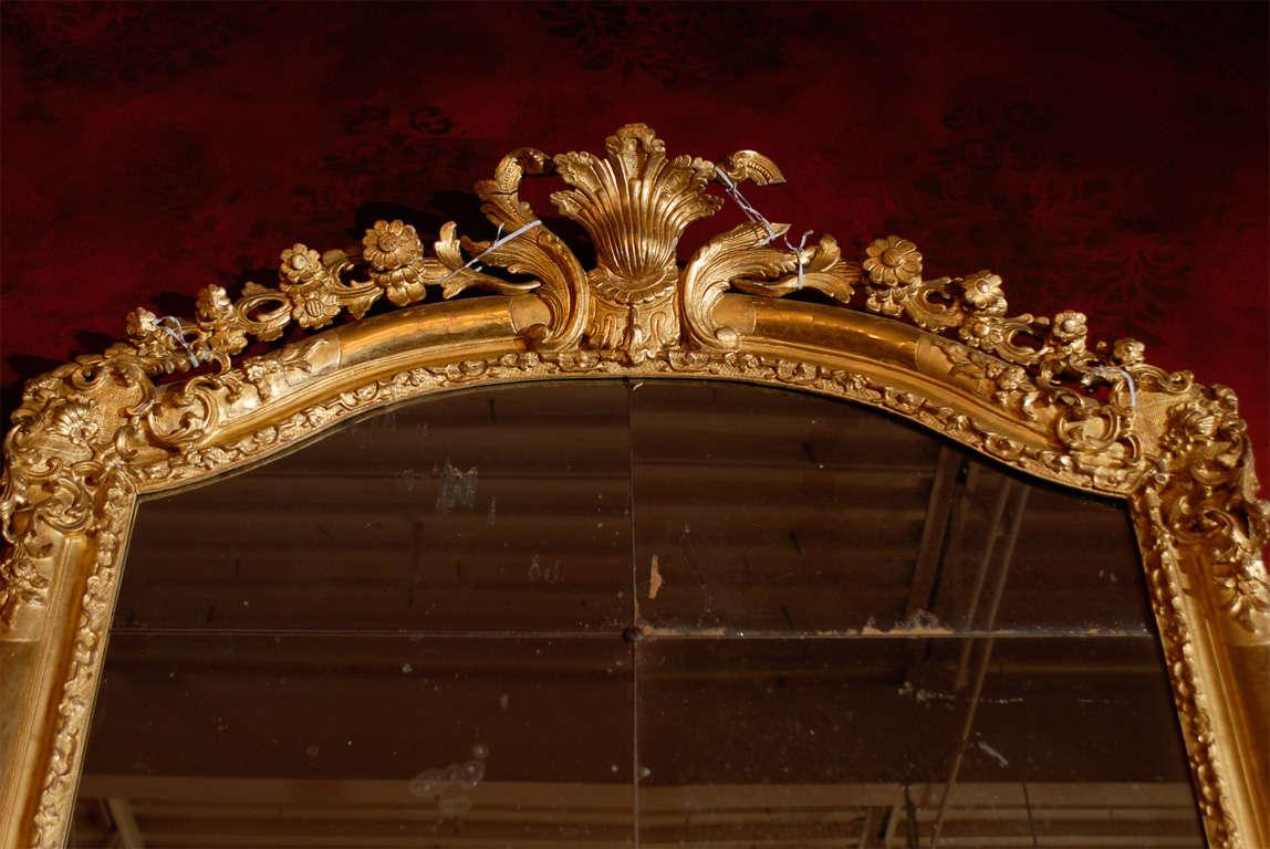 Louis Xv Carved Regency Gilt Mirror At 1stdibs