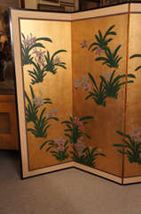 Japanese Painted Screen image 3