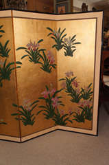 Japanese Painted Screen image 4