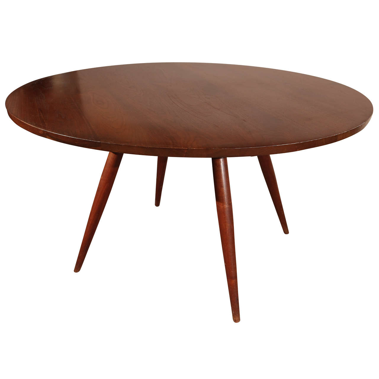 Nakashima Table george nakashima round dining table at 1stdibs