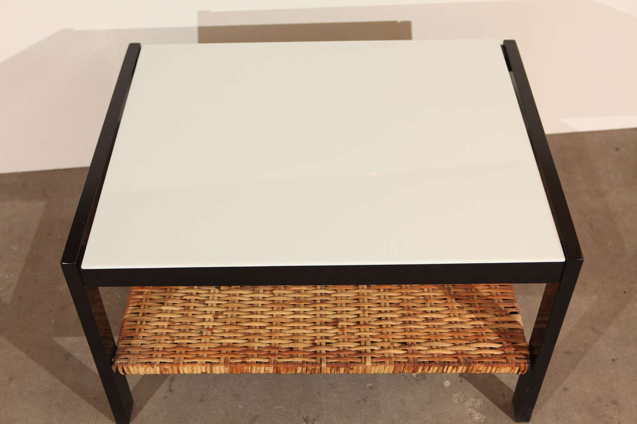 Van Keppel Green Side Table In Good Condition For Sale In Los Angeles, CA