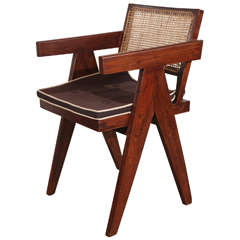 Pierre Jeanneret Chandigarh Arm Chairs Set of 6