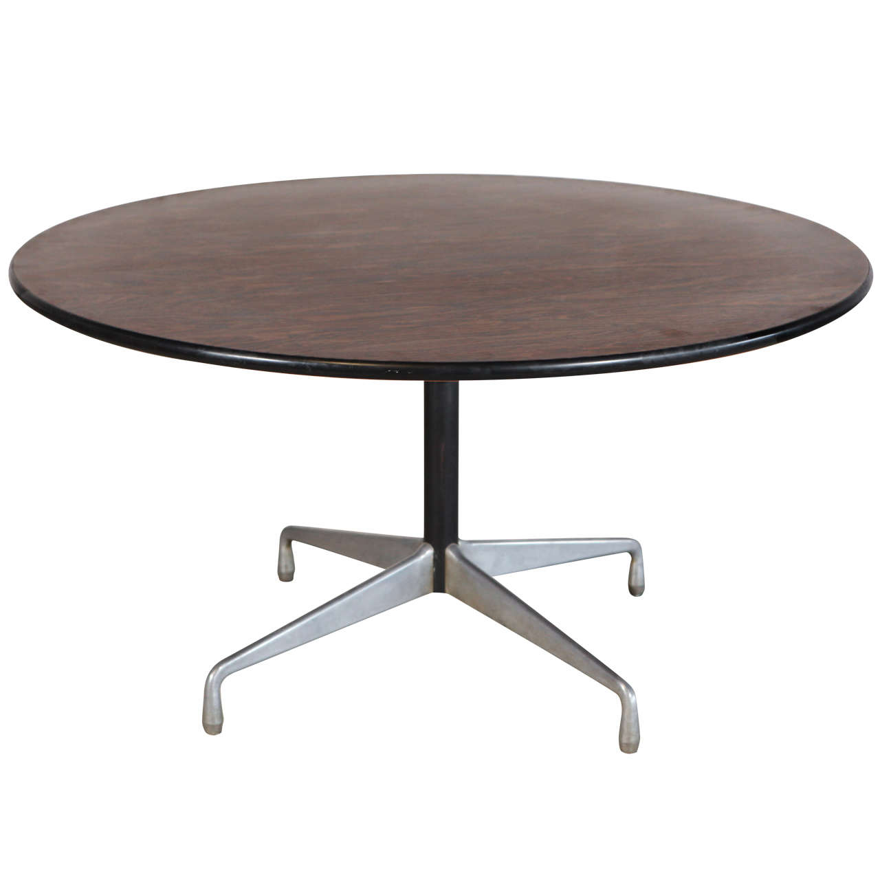charles and ray eames rosewood top center table at 1stdibs. Black Bedroom Furniture Sets. Home Design Ideas