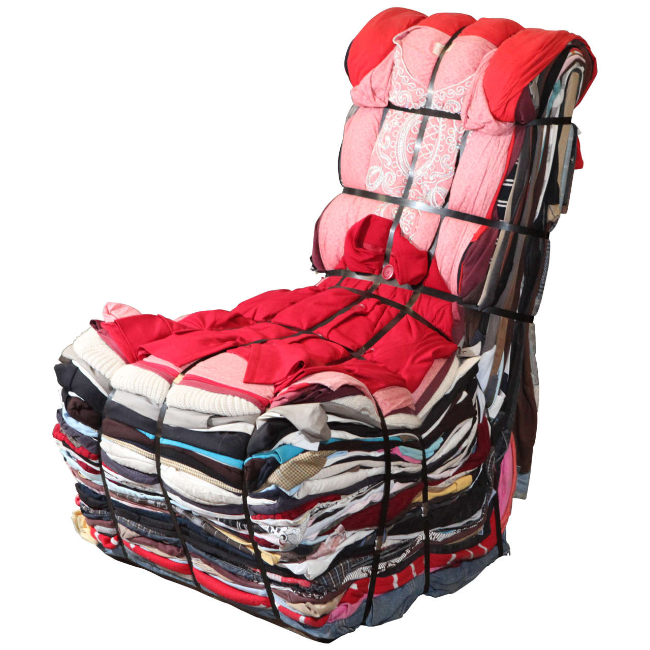 Tejo Remy Rag Chair 1991 For Sale At 1stdibs