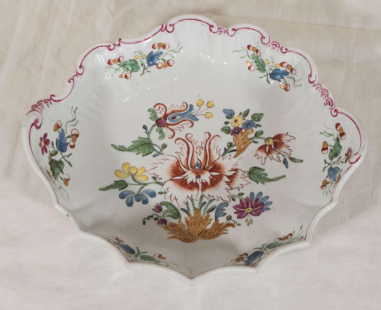 Antike Italienische Porzellanteller aus dem 18. Jahrhundert 6