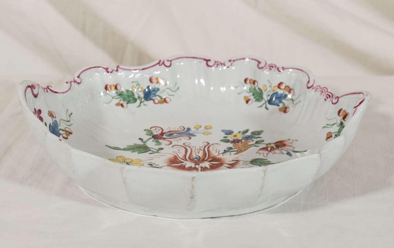 Antike Italienische Porzellanteller aus dem 18. Jahrhundert 7