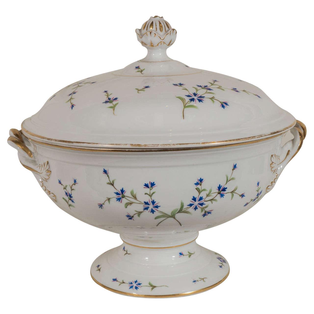Antique Royal Copenhagen Porcelain Soup Tureen
