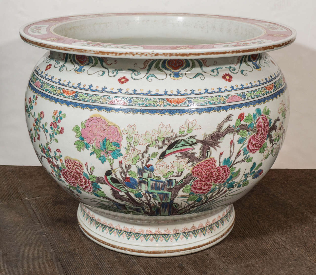 Antique Chinese Porcelain Fish Bowl At 1stdibs