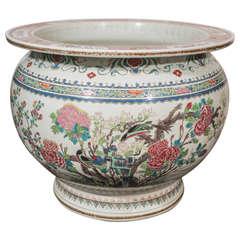 Antique Chinese Porcelain Fish Bowl
