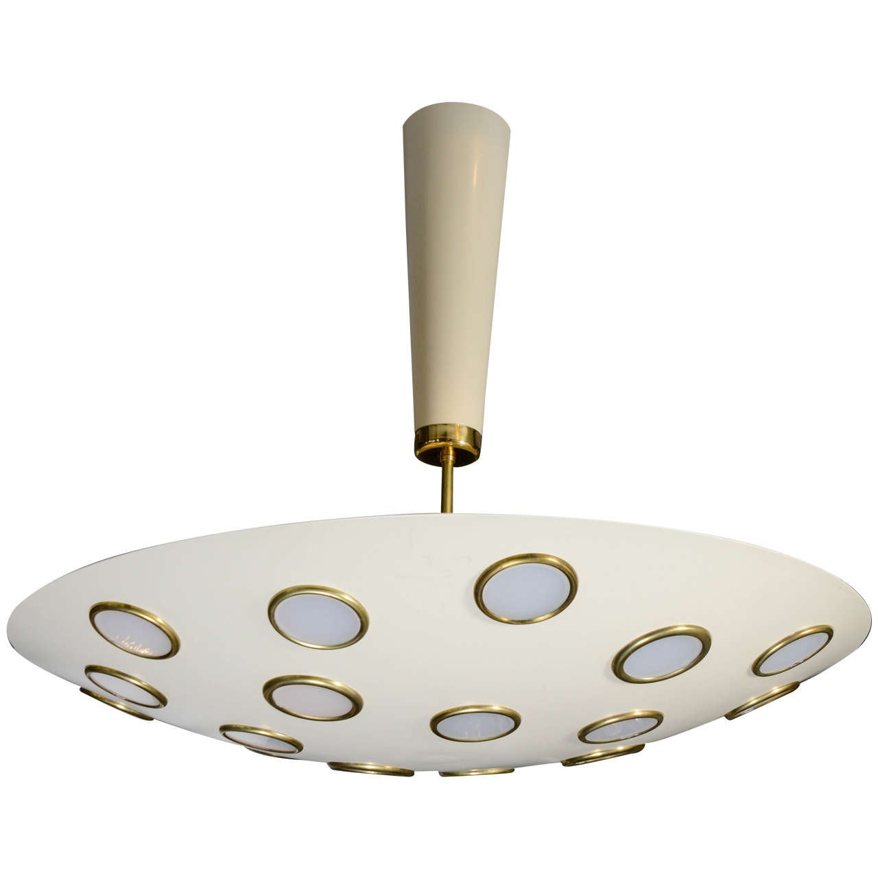 Nice Ceiling Lamp in the Style of Lumen